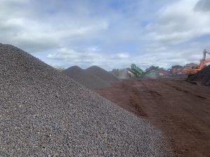 Aerolite's Basalt screenings