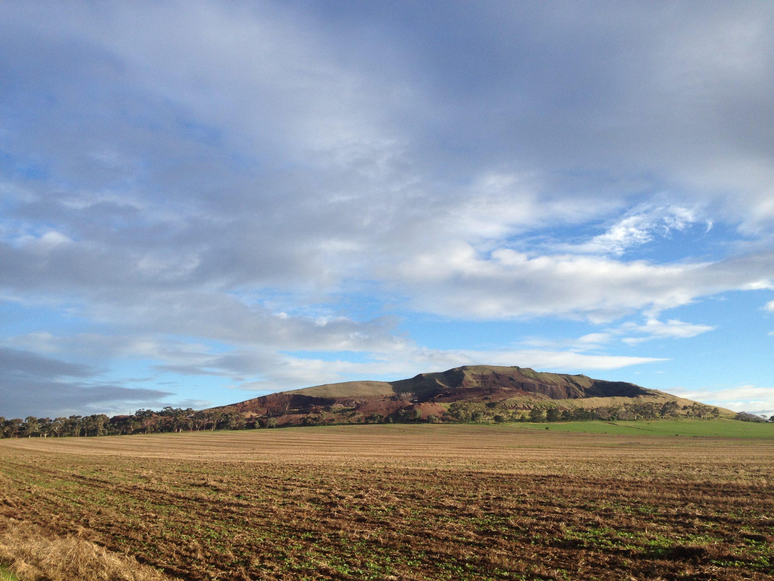 Aerolite's Quarry viewed to the north